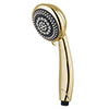 MX Synergy 6 Mode Rub Clean Showerhead Gold Effect - RDX profile small image view 1