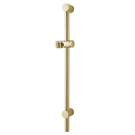 MX Combo Adjustable Shower Riser Rail - Gold Effect - RDZ