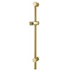 MX Combo Adjustable Shower Riser Rail - Gold Effect - RDZ profile small image view 1