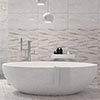 Reena Linear Decor Wall Tiles - 300 x 600mm Small Image