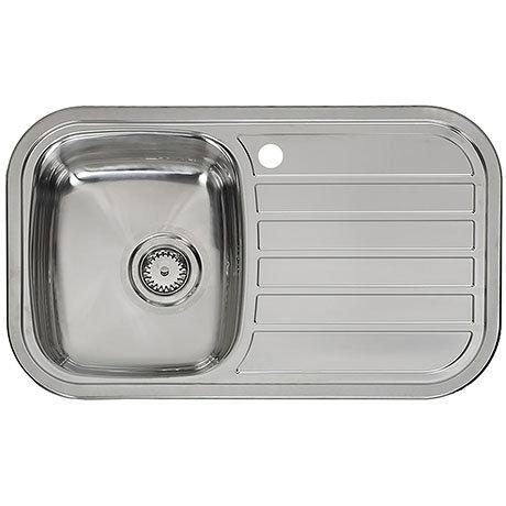 Reginox Regent 10 Lux 1.0 Bowl Stainless Steel Inset Kitchen Sink