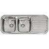 Reginox Regent 30 Lux 2.0 Bowl Stainless Steel Inset Kitchen Sink profile small image view 1