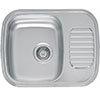 Reginox Regidrain 1.0 Bowl Stainless Steel Inset Kitchen Sink profile small image view 1