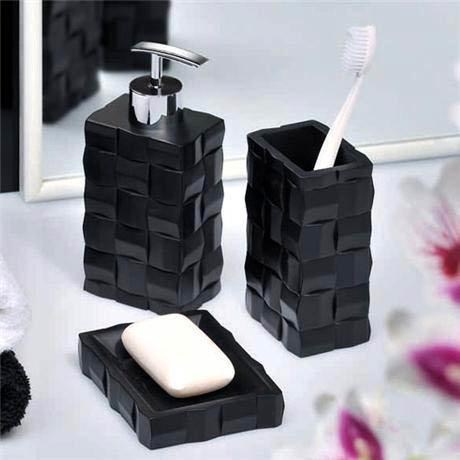 ... Black Bathroom Accessories Uk