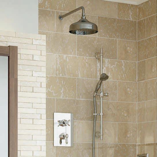 Bristan Renaissance Recessed Dual Control Shower Pack  Profile Large Image
