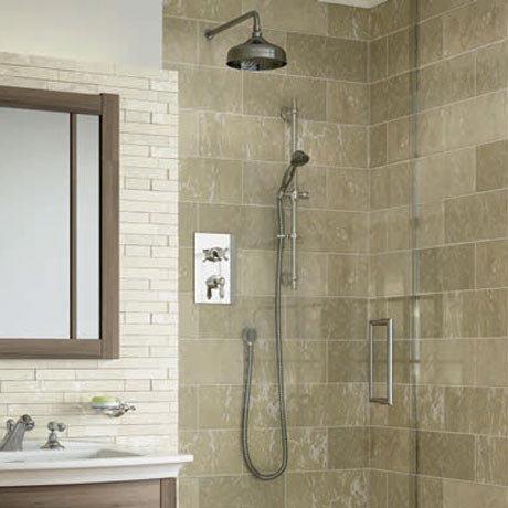 Bristan Renaissance Recessed Dual Control Shower Pack Large Image
