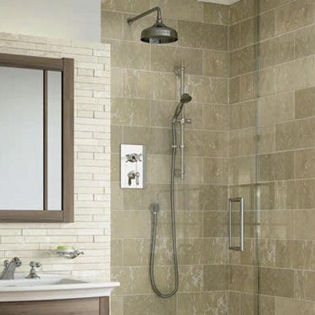 Bristan Renaissance Recessed Dual Control Shower Pack