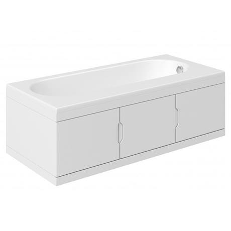 Trojan RH Repono 1675mm Single Ended Bath + Storage Panels
