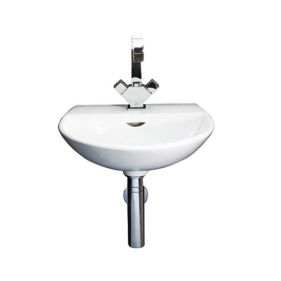 RAK - Reserva 45cm Hand Basin - 1 or 2 Tap Hole Option Large Image