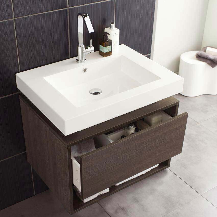 Hudson Reed Recess Basin & Cabinet W700 x D520mm - RF032 profile large image view 2