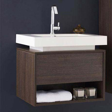 Hudson Reed Recess Basin & Cabinet W700 x D520mm - RF032