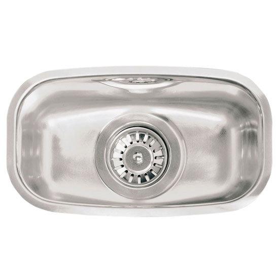 Reginox - Regi Fit 326 x 184mm Integrated Half Bowl Sink - Stainless Steel - RF300S Large Image