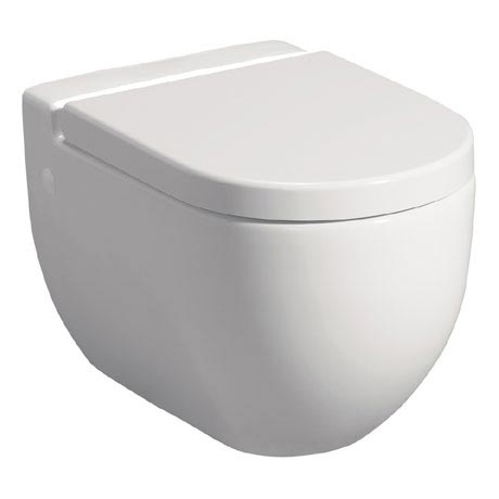 Bauhaus - Stream II Wall Hung Pan with Soft Close Seat