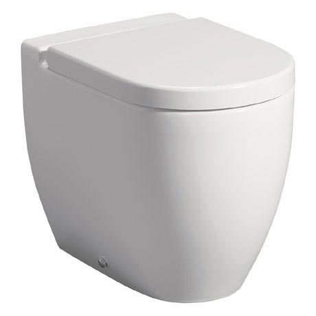 Bauhaus - Stream II Back To Wall Pan with Soft Close Seat