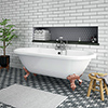 Duke 1795 Traditional Roll Top Bath + Rose Gold Leg Set profile small image view 1