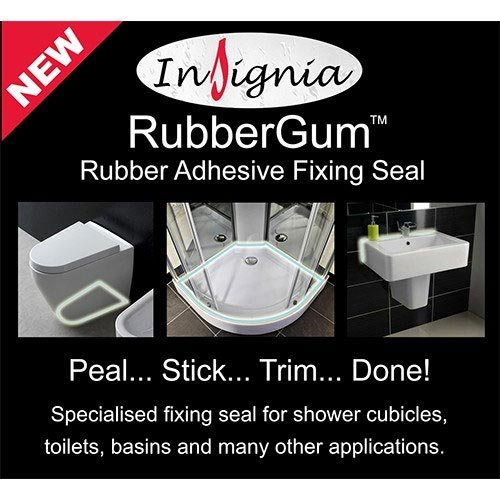 Insignia RubberGum Adhesive Fixing Seal profile large image view 2