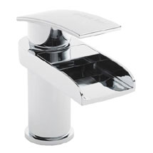 Hudson Reed Rhyme Open Spout Basin Mixer Tap without Waste - RHY305 Medium Image