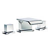 Mayfair - Rio 3 Tap Hole Basin Set - RIO049 profile small image view 1