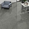Rivara Grey Terrazzo Effect Floor Tiles - 608 x 608mm Small Image