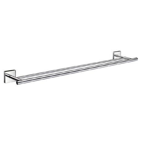 Smedbo House - Polished Chrome Double Towel Rail - RK3364