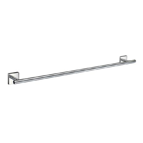 Smedbo House - Polished Chrome Single Towel Rail - RK3464