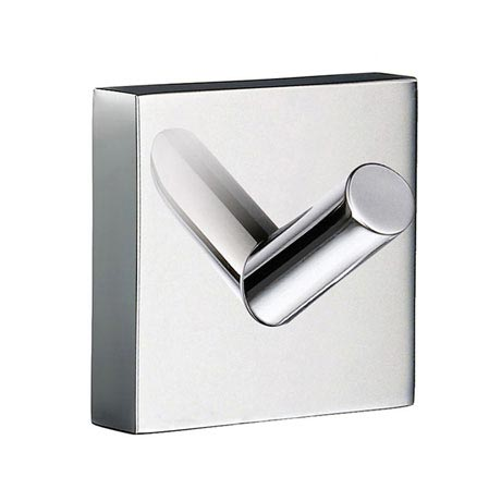 Smedbo House - Polished Chrome Single Towel Hook - RK355