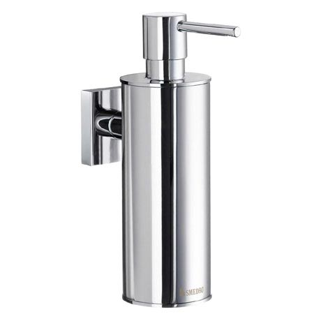Smedbo House - Polished Chrome Wall Mounted Soap Dispenser - RK370