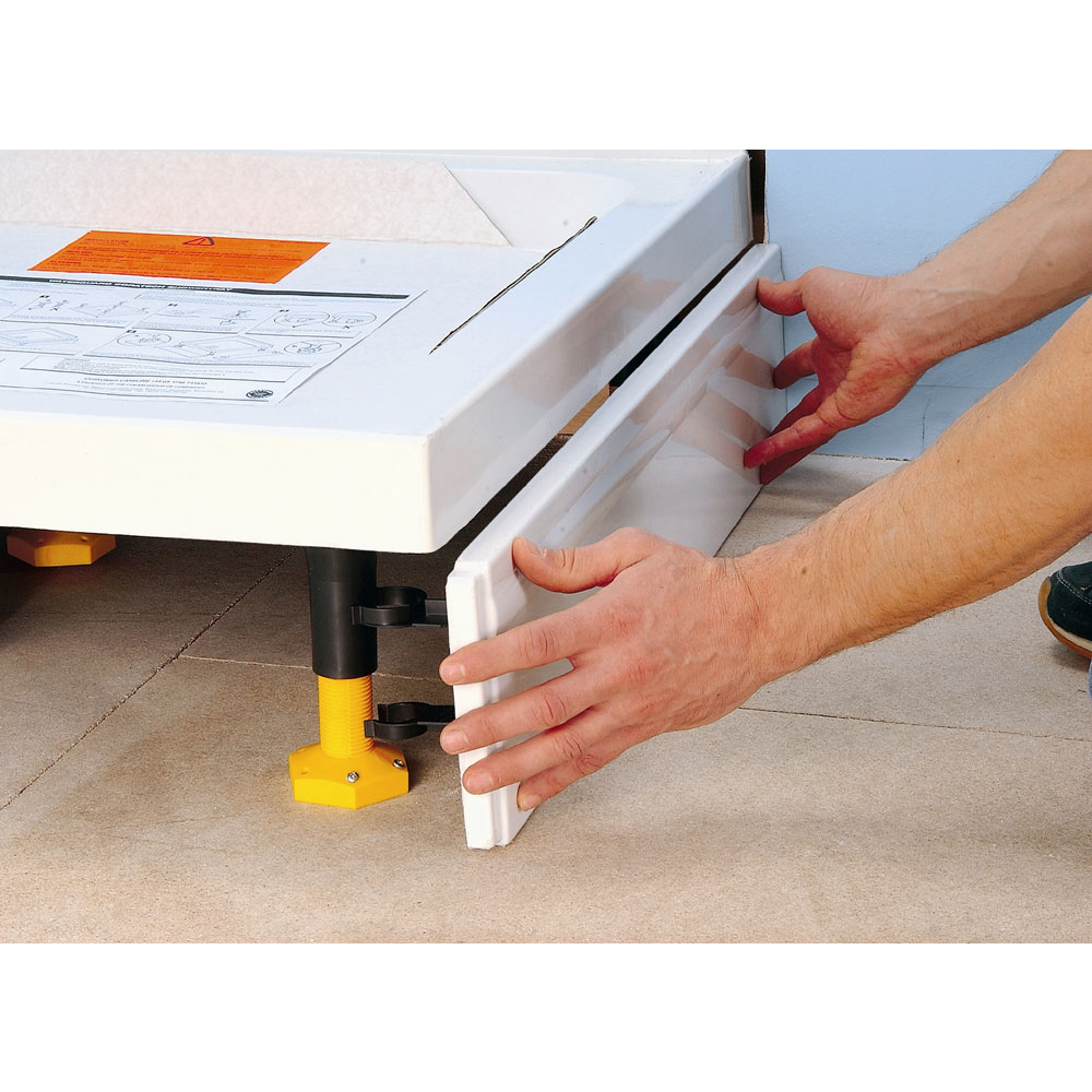 Coram - Rectangular Slimline Tray Riser Kit - RKSTR2 profile large image view 2