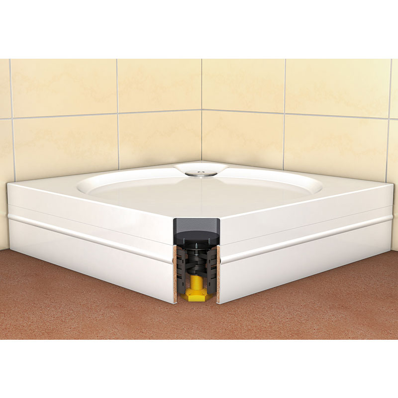 Coram - Rectangular Slimline Tray Riser Kit - RKSTR2 profile large image view 4