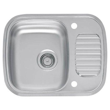 Reginox Regidrain 1.0 Bowl 2TH Stainless Steel Inset Kitchen Sink