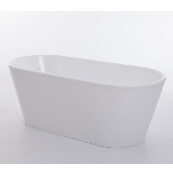 Royce Morgan Sapphire White Luxury Freestanding Bath Profile Large Image
