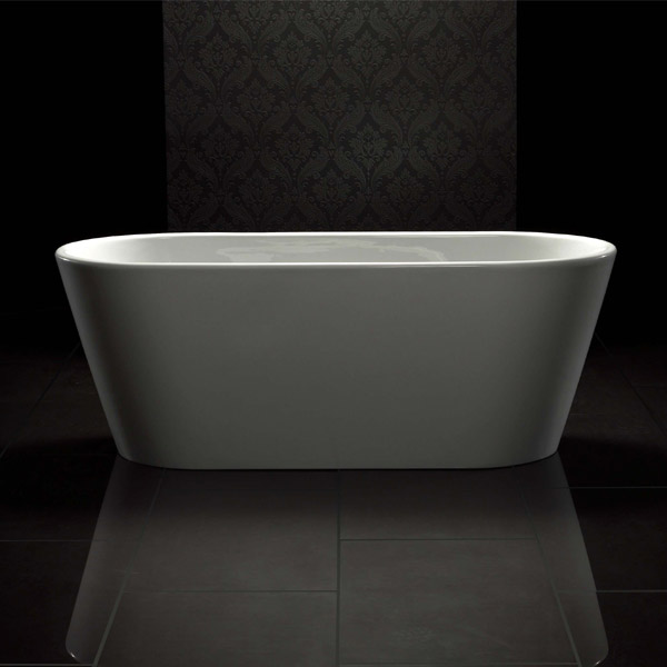 Royce Morgan Sapphire White Luxury Freestanding Bath Large Image