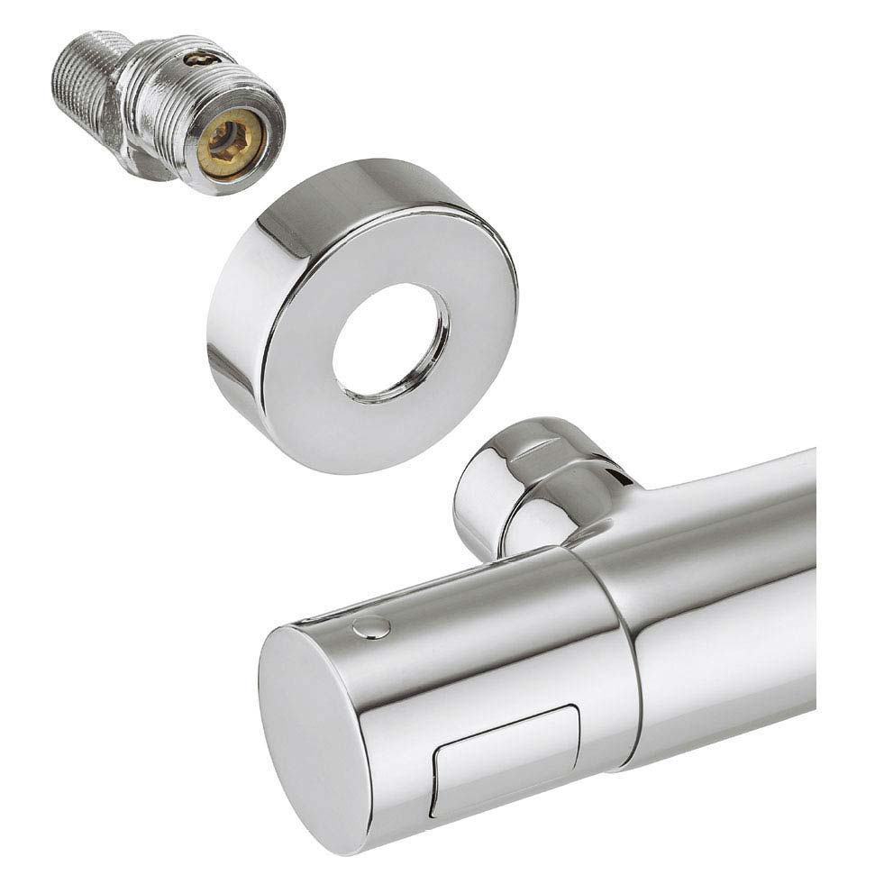 Crosswater Exposed Thermostatic Shower Unions with Integrated Shutoff - RM-SHUTOFF profile large image view 2