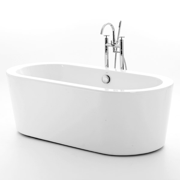 Royce Morgan Woburn Luxury Freestanding Bath with Waste Large Image