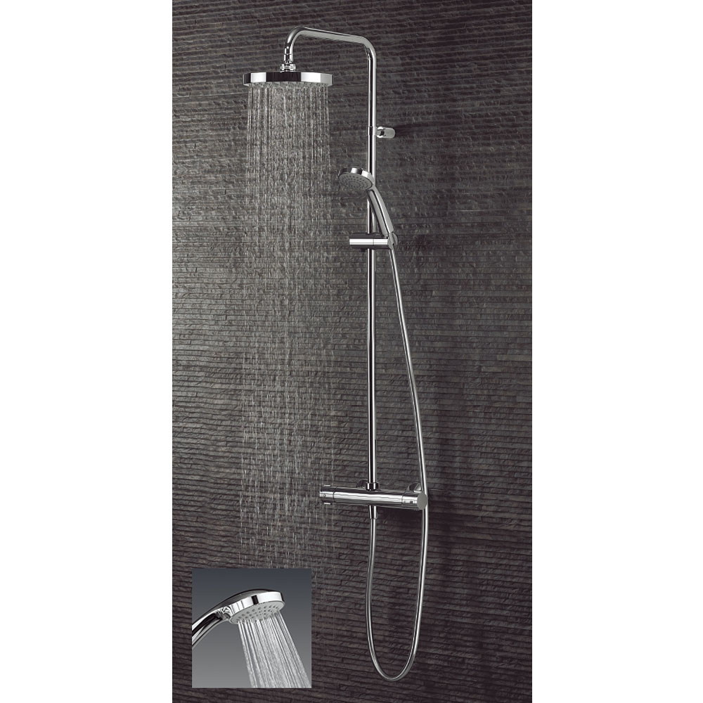 Crosswater - Design Multifunction Thermostatic Shower Valve with Kit - RM530WC Profile Large Image