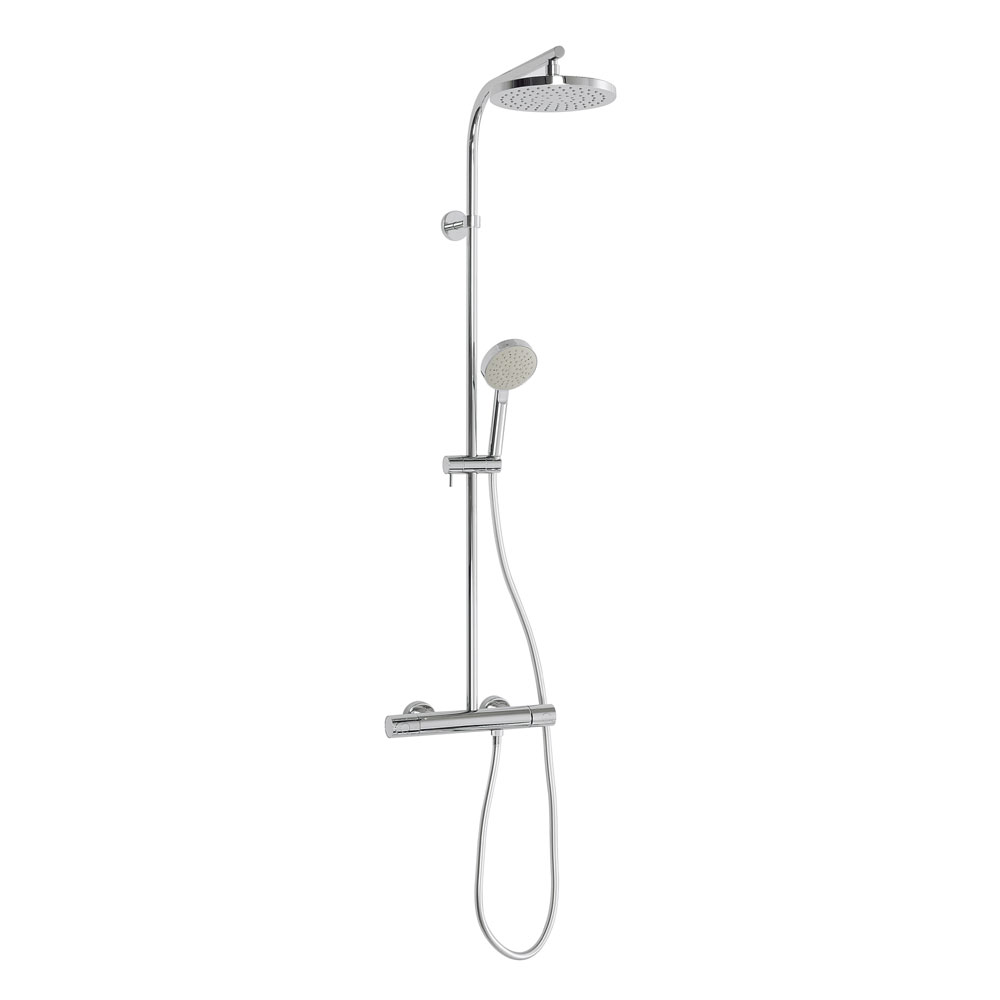 Crosswater - Curve Cool-Touch Multifunction Thermostatic Shower Valve and Kit - RM553WC Large Image