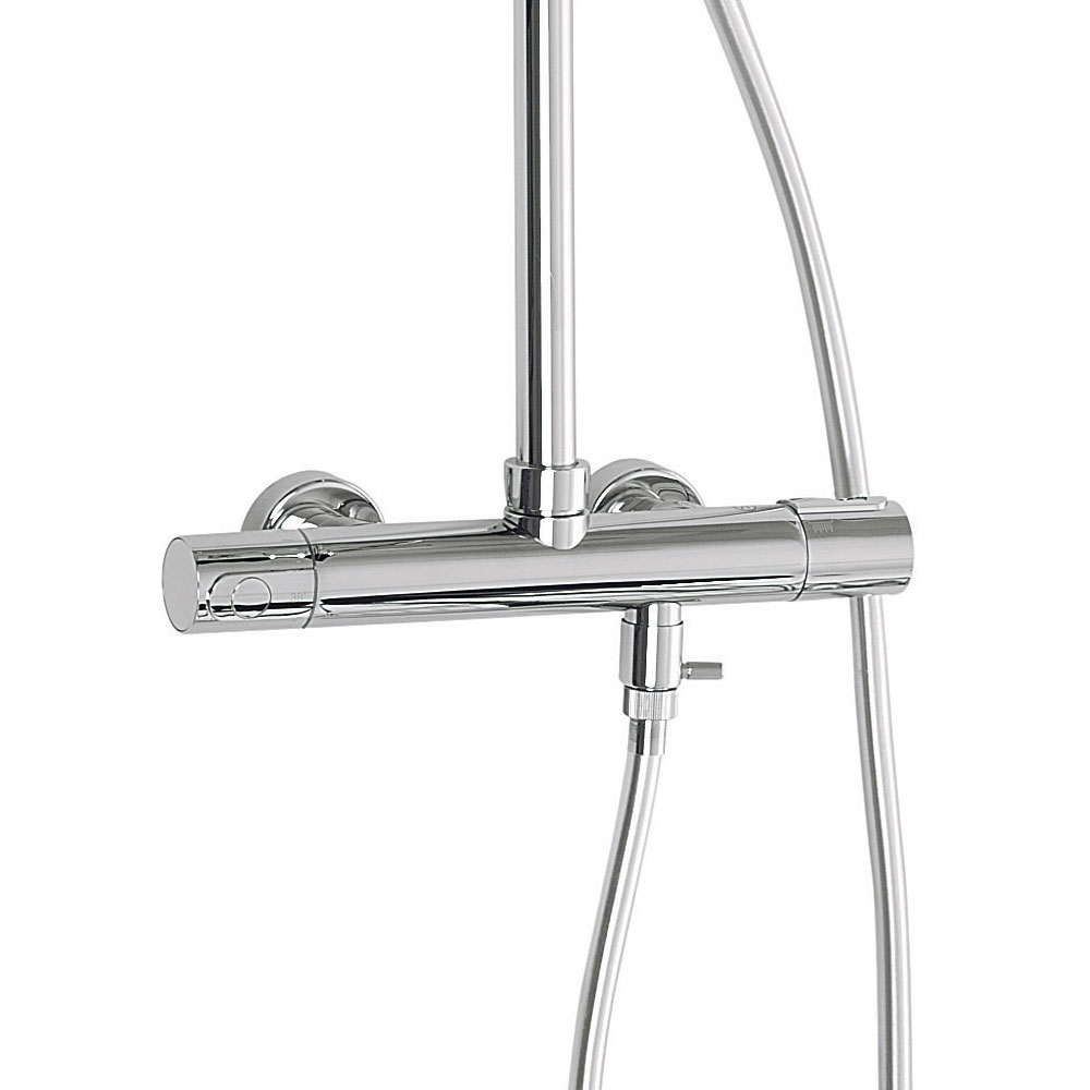 Crosswater - Elite Cool-Touch Multifunction Thermostatic Shower Valve and Kit - RM555WC Standard Large Image