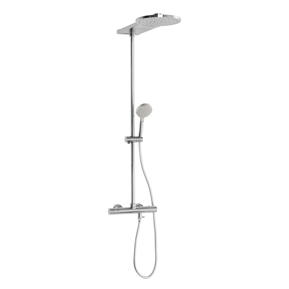 Crosswater - Elite Cool-Touch Multifunction Thermostatic Shower Valve and Kit - RM555WC Large Image