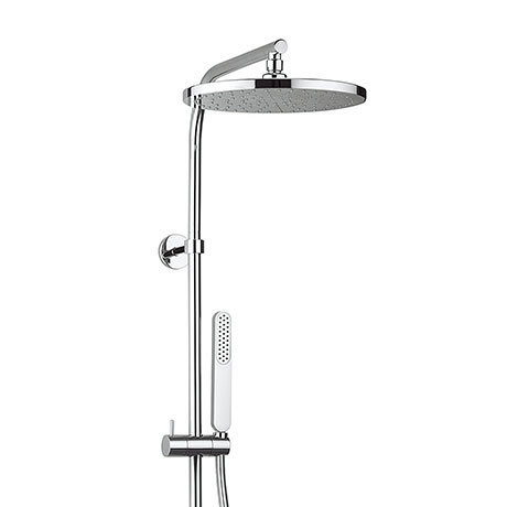 Crosswater - Arctic Chrome and White Multifunction Thermostatic Shower Valve with Kit - RM600WC Profile Large Image