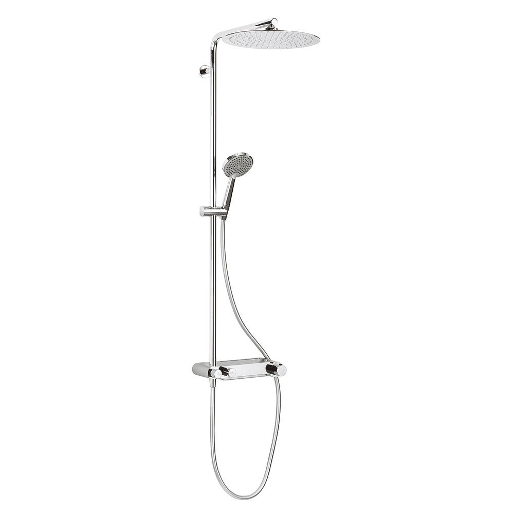 Crosswater - Ethos Multifunction Thermostatic Shower Valve and Kit - RM610WC profile large image view 1