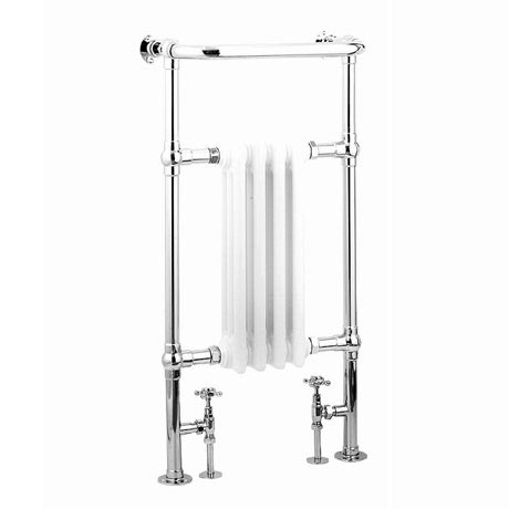 Reina Alicia Traditional Towel Rail Radiator - 960 x 495mm
