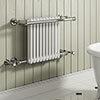 Reina Camden Traditional Towel Rail Radiator profile small image view 1