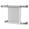 Reina Camden Traditional Towel Rail Radiator profile small image view 1