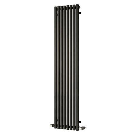 Reina Cascia Vertical Steel Designer Radiator - Black