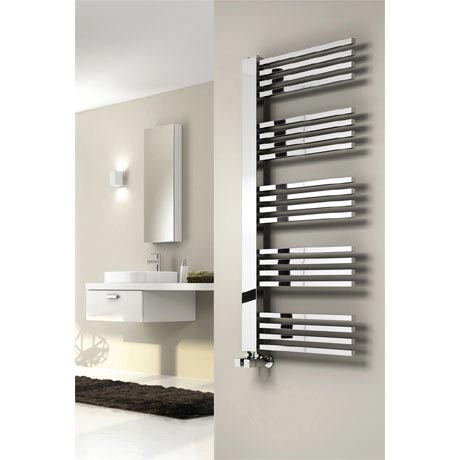 Reina Dexi Steel Designer Radiator - Chrome
