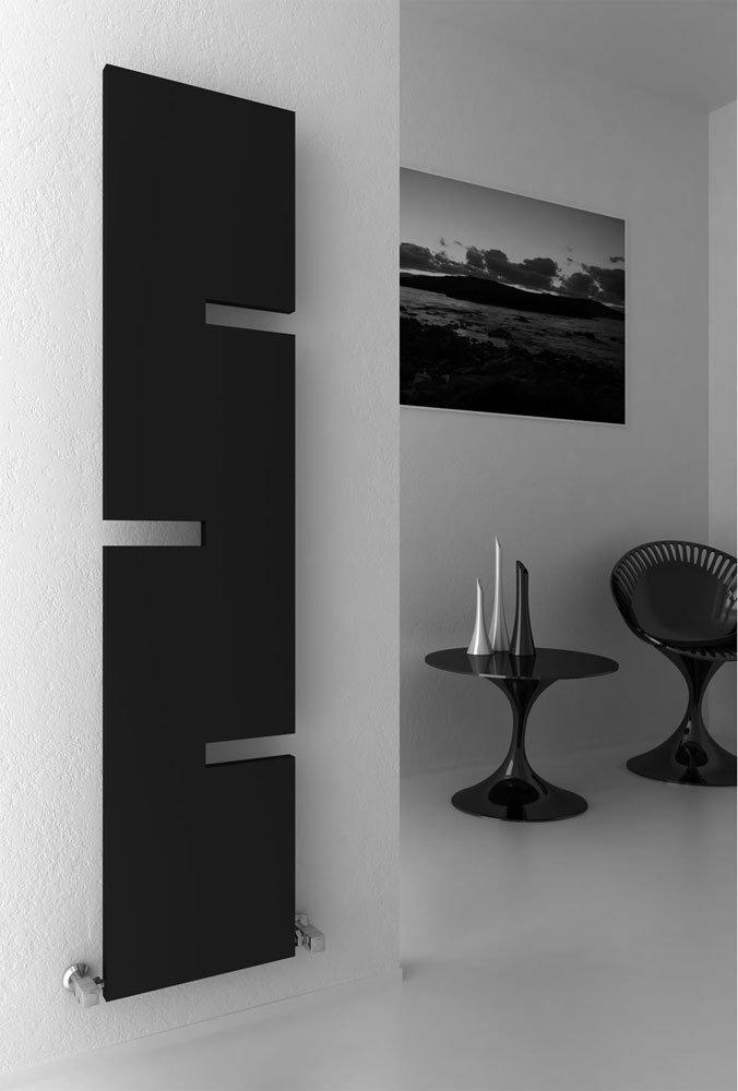 Reina Fiore Steel Designer Radiator - 1800 x 400mm - Anthracite Large Image