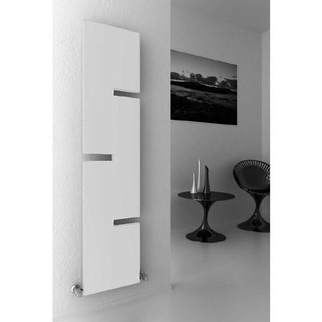 Reina Fiore Steel Designer Radiator - 1800 x 400mm - White