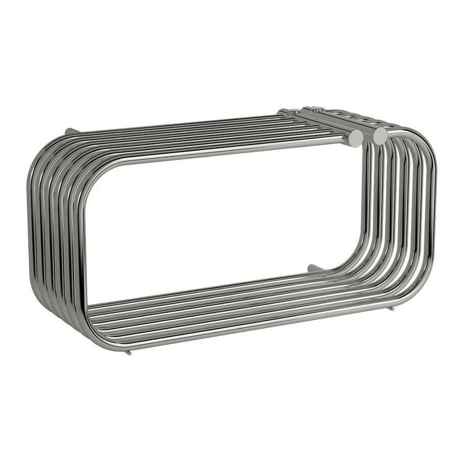 Reina Luda Steel Designer Radiator - 250 x 700mm - Chrome Large Image
