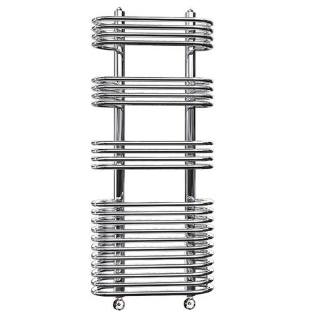 Reina Mirus Steel Designer Radiator - Chrome