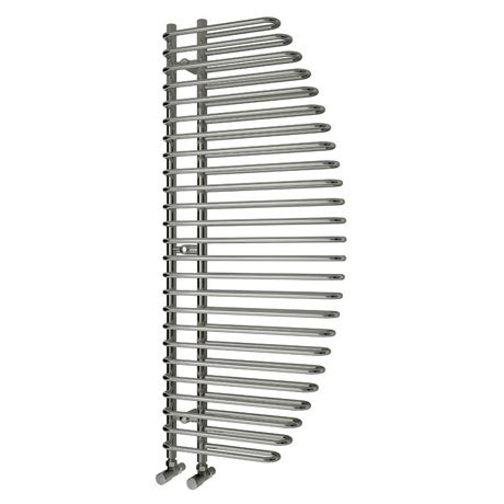 Reina Nola Steel Designer Radiator - 1400 x 600mm - Chrome